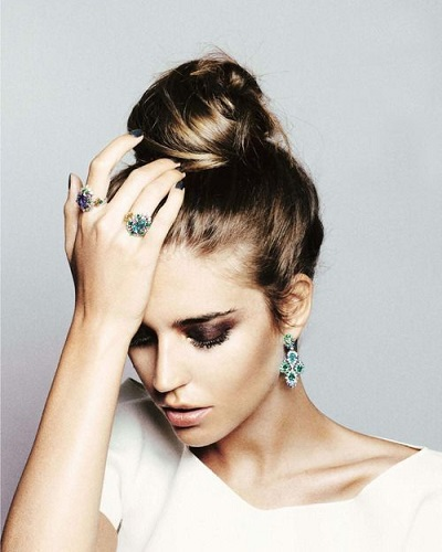 Sleek High Bun