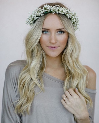 Wedding on the Beach Hairstyle