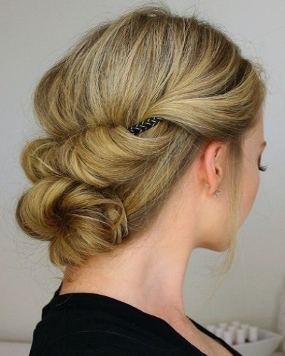 Tuck and Cover Updo