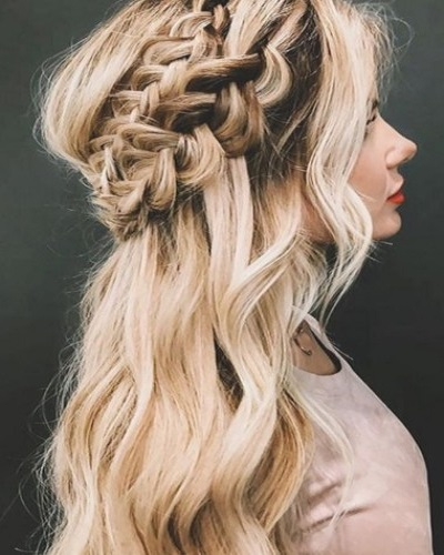 Double Braided Crown