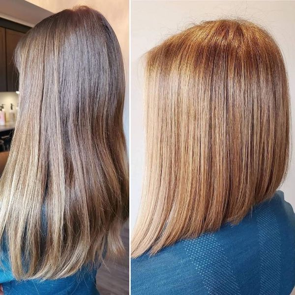 Lenght for Days Blonde Long Bob for Straight Hair