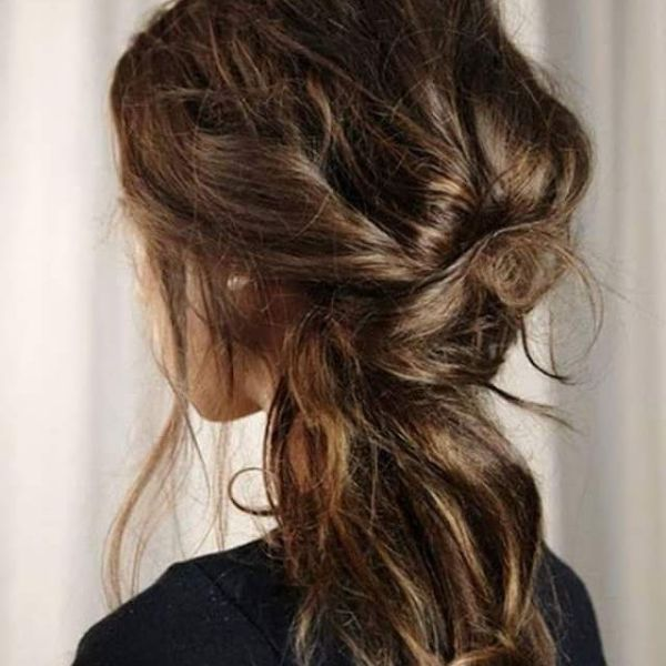 Perfectly Messy Romantic Updo