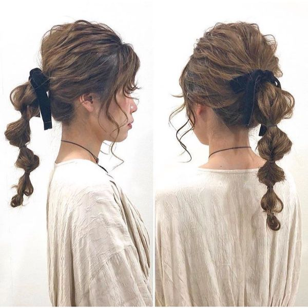 Ribbon Braided Style Fishtail
