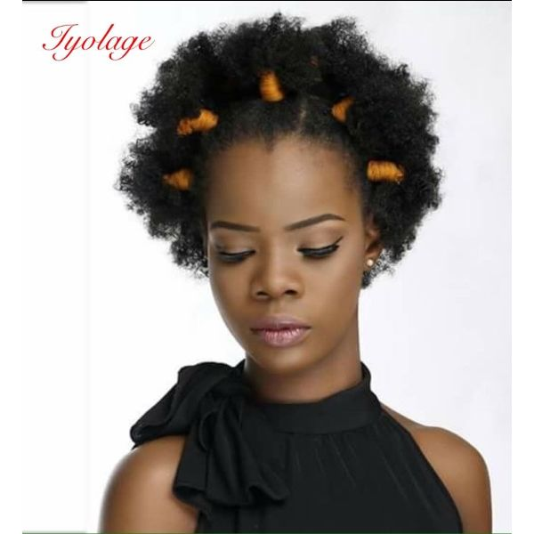 Tiny Small Knots for Curly Afro Hair