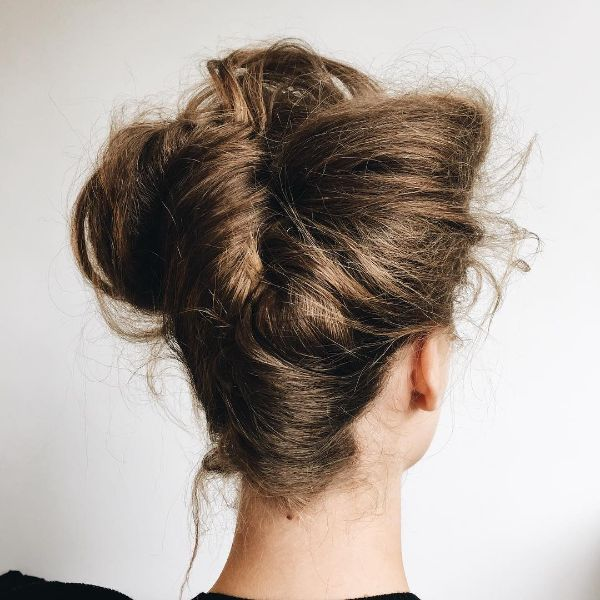 Victorian Messy Updo for Long Hair