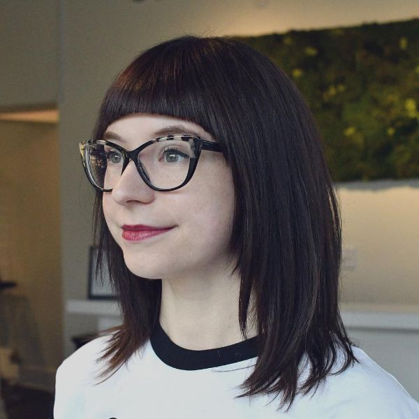 Curved Bangs