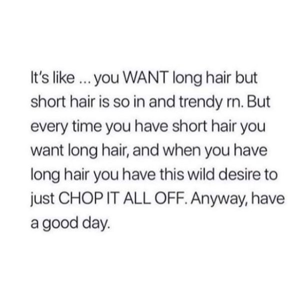 Hairstyle Dilemma
