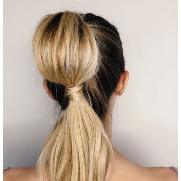 Jasmine Bubble Ponytail Updo