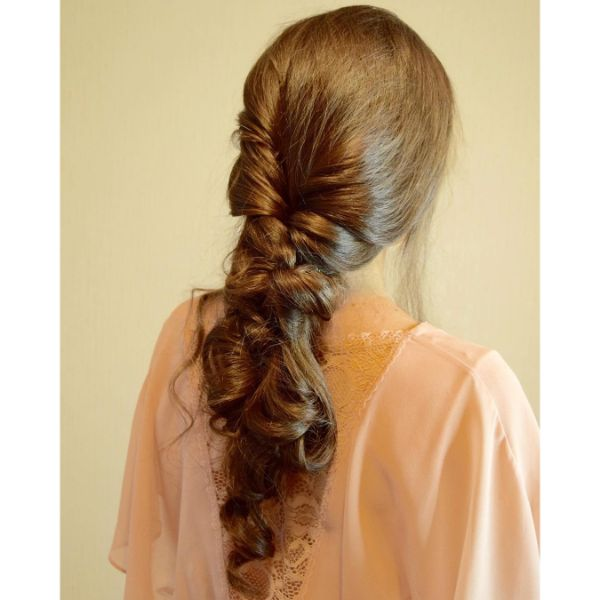 Messy Prom Updo Women Hairstyle
