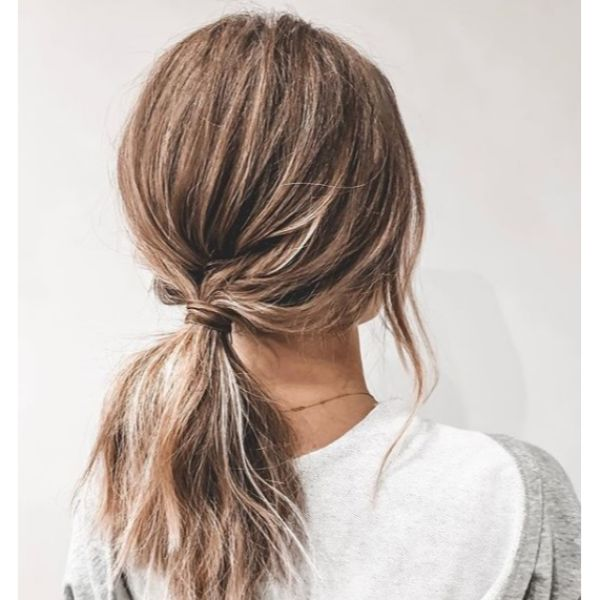 Short Amped Up Ponytail