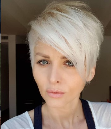 Short Messy Pixie Hairstyles For Damaged Hair