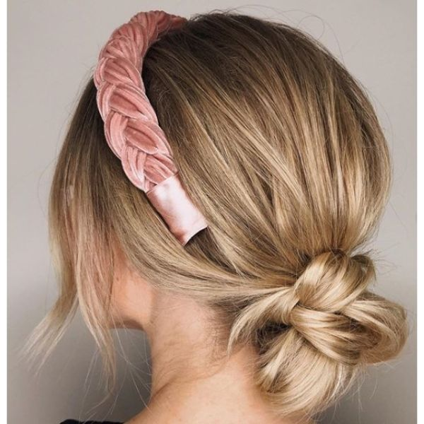 Simple Braided Chignon