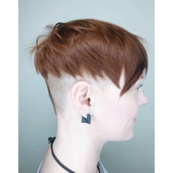 Chopped Undercut with Spiky Styling