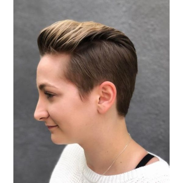 Disconnected Pixie Short Haircuts For Women
