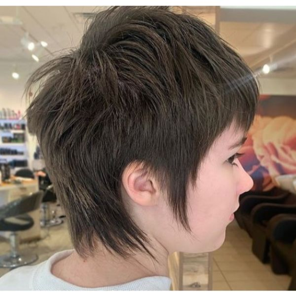Perfect Pixie Mullet Short Haircuts For Women