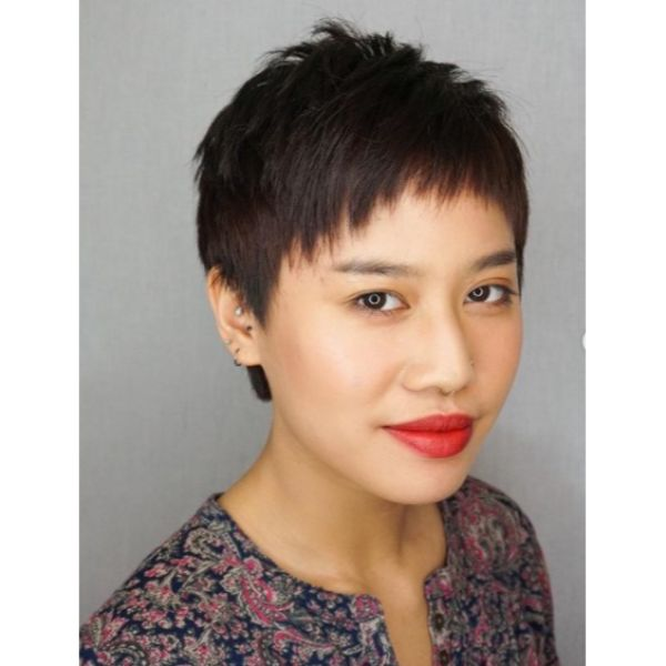Razor Cut Short Pixie