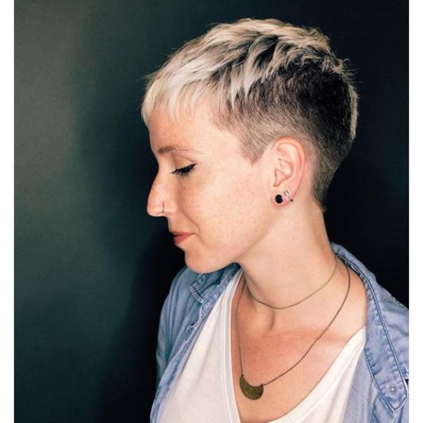 Scissors Over Comb Short Haircuts For Women
