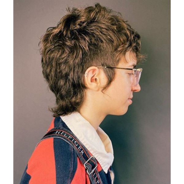 Short Mullet with Extra Length