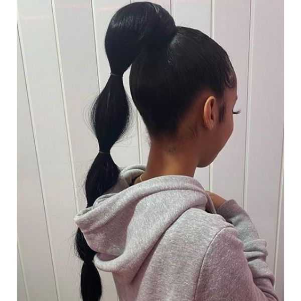 Jasmine Ponytail Easy Hairstyle