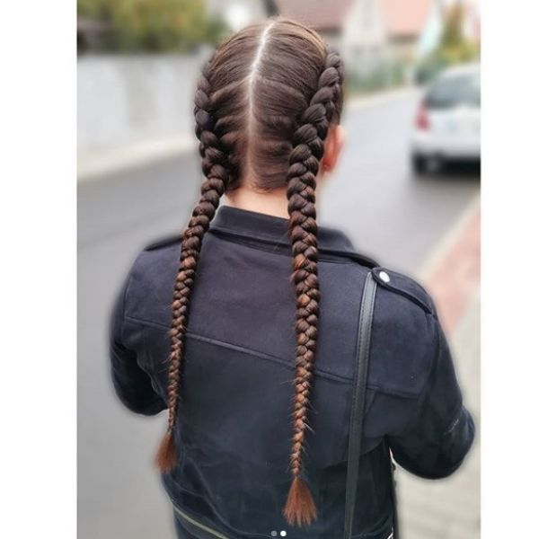 Kanekalon Braids Easy Hairstyles for School