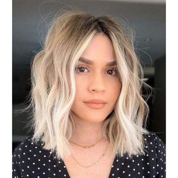 Ombre Wob Mid Length Hairstyle