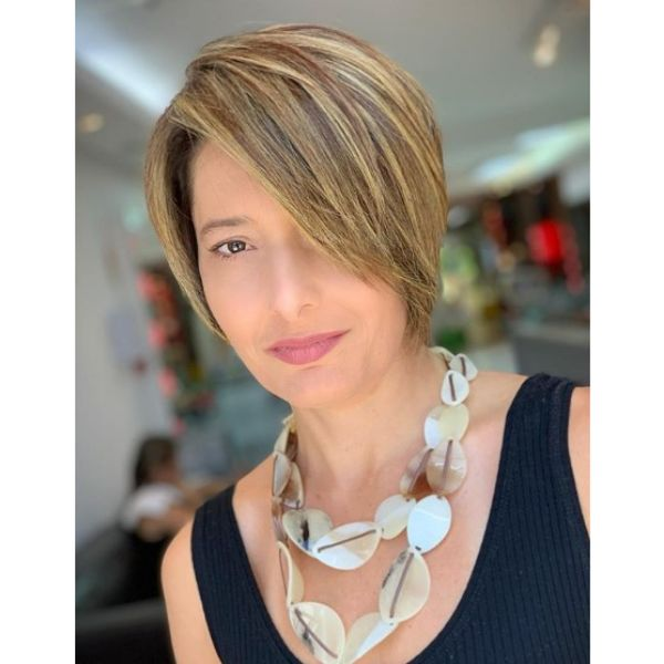 Short Balayage Bob Haircut