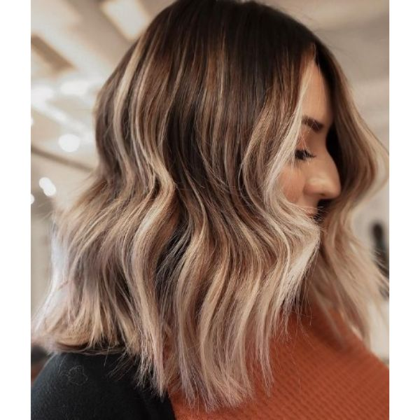 Bronde Wob With Highlights
