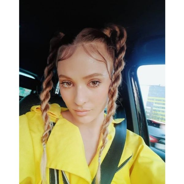Twisted Braids Hairstyle For Teenage Girls haircuts for teenage girls