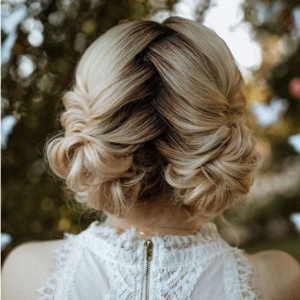 Braided Hairstyle For Blonde Hair