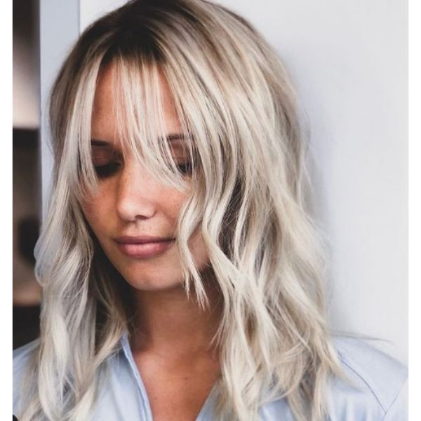 Soft Curtain Bangs Hairstyles For Oval Face