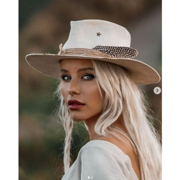 Western Inspired Hairstyles For Blonde Hair