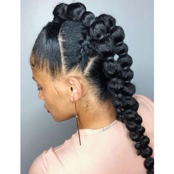 Multiple Ponytail Hairstyles For Black Hair